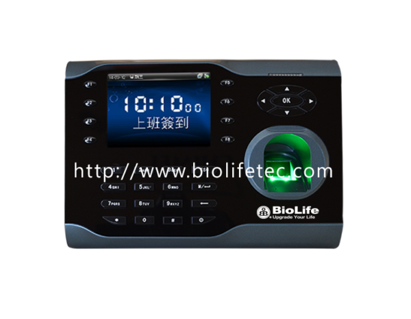 Bio-480彩色考勤指紋機